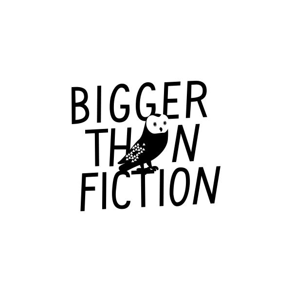 Bigger Than Fiction Logo