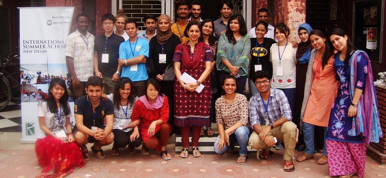 2014 Session at Jamia Millia Islamia - A Central University