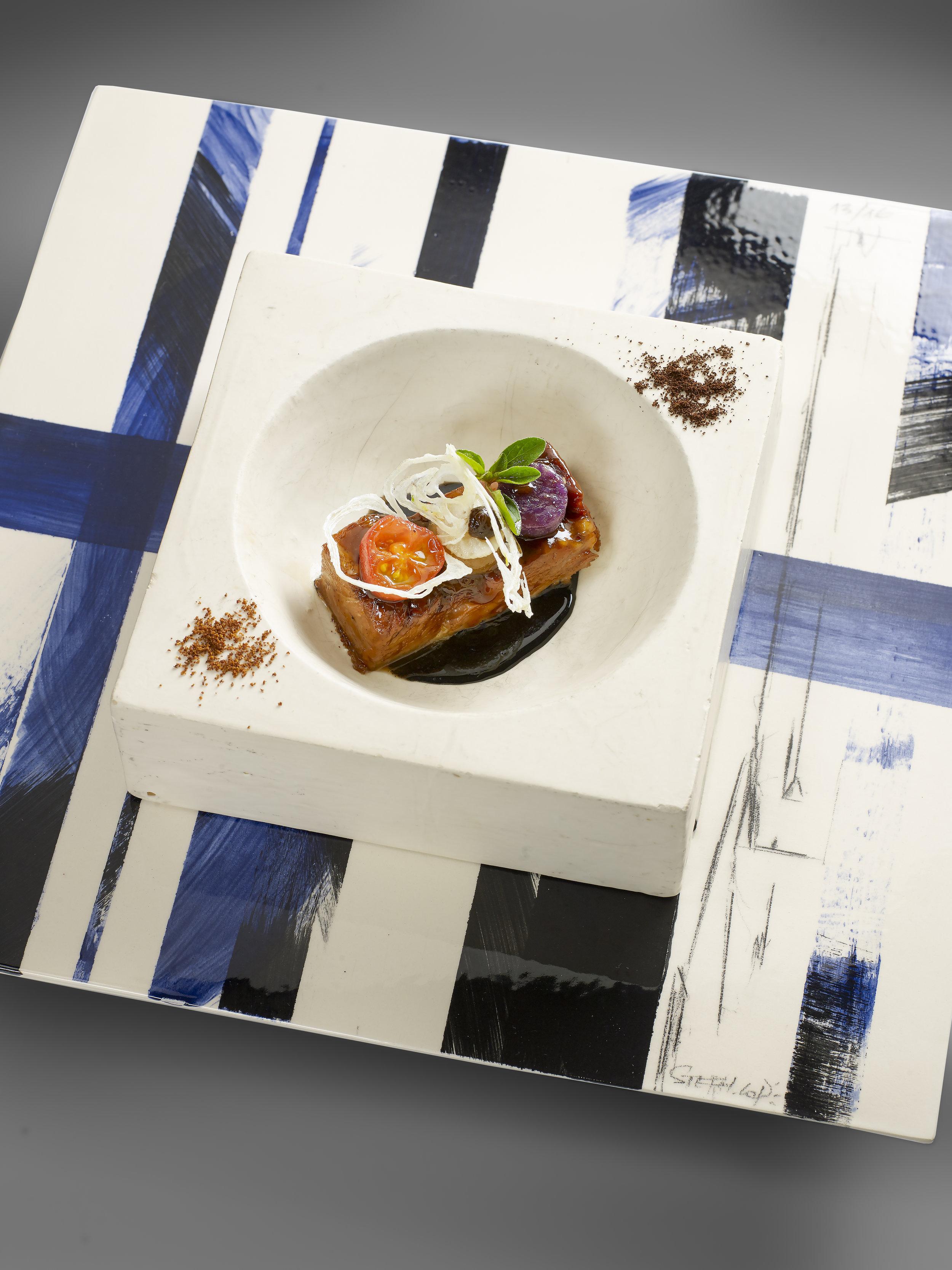 Artiste Steph Cop pour La Palme D'Or - Restaurant 2 étoiles Cannes