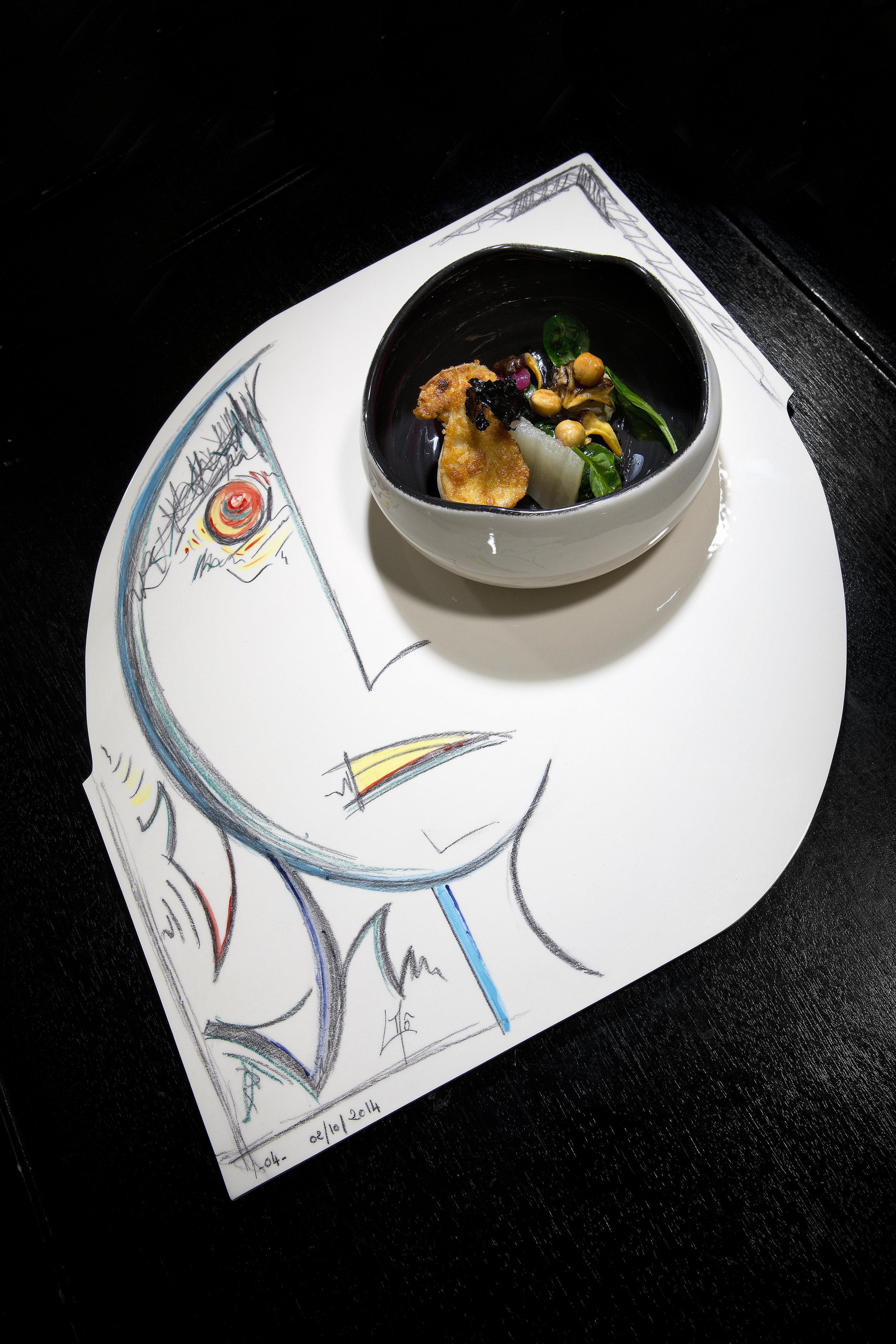 Laurent Mô pour La Palme D'Or - Restaurant 2 étoiles Cannes
