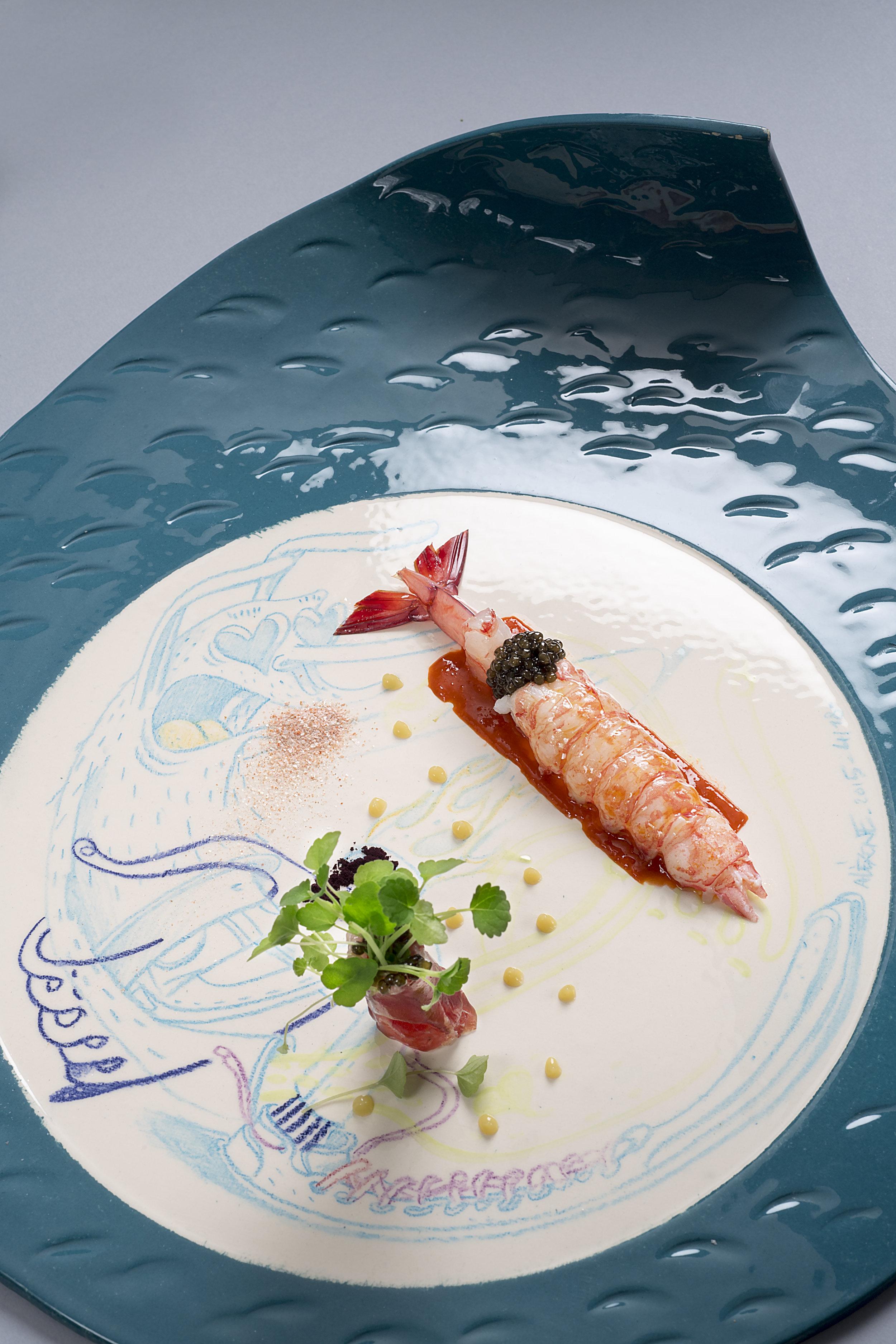 Artiste Aléxone pour La Palme D'Or - Restaurant 2 étoiles Cannes