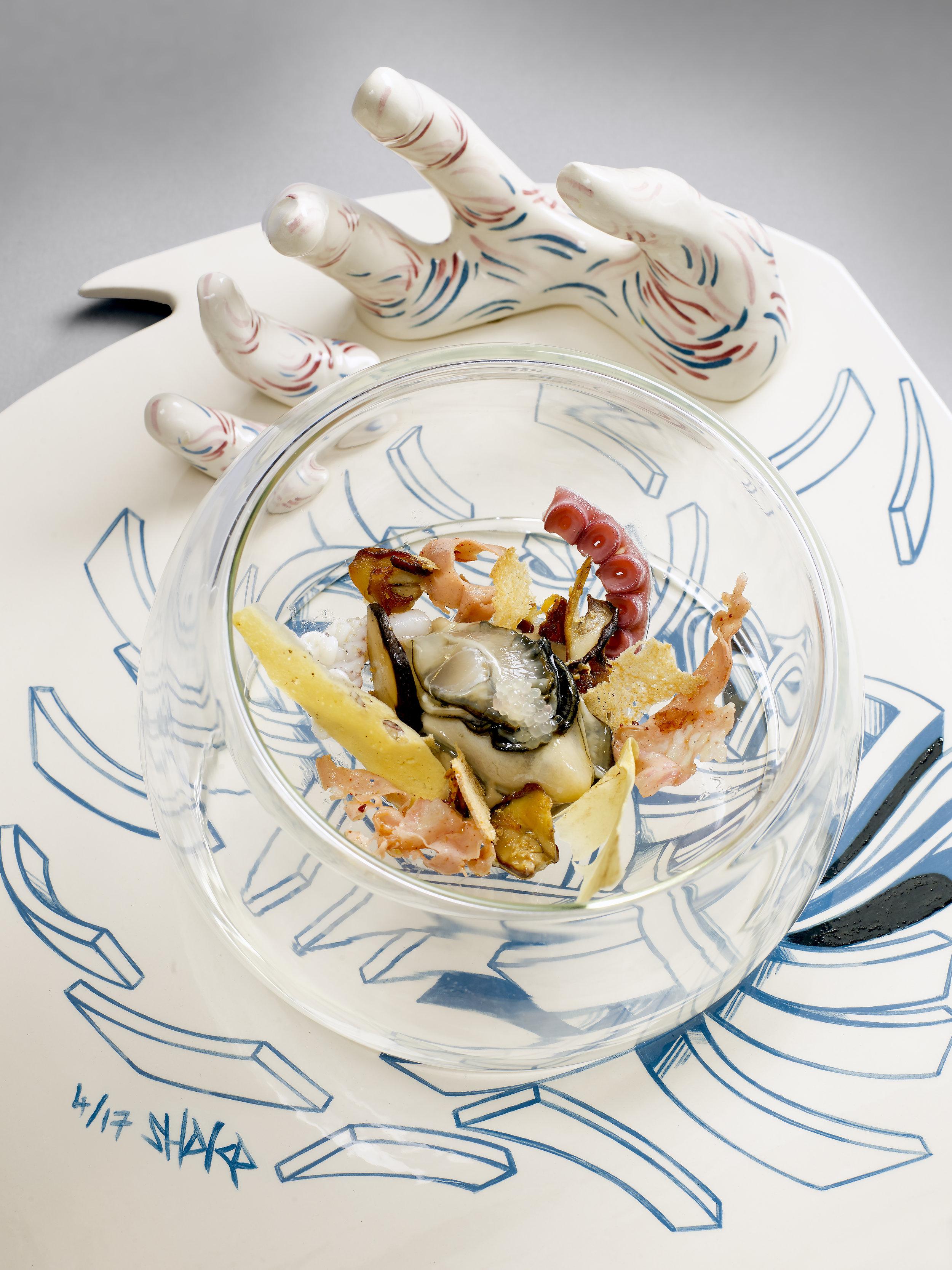 Artiste SHAKA pour La Palme D'Or - Restaurant 2 étoiles Cannes