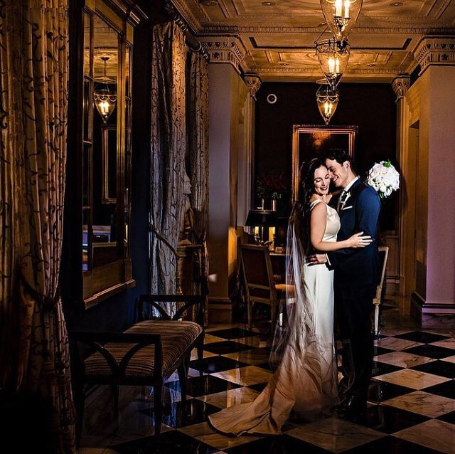 Can we scream ROMANTIC? My gorgeous bride Rebecca & her handsome husband Federico!! photography: @jennaleighphotographydmv  #wedding #glamorous #bride #groom #beautifulbride #stylemepretty #washingtondc #theknot #bridalhair #romantic #weddingday #love #dreamy #washingtonianweddings #bridallook #bridalstyle #timeless #elegant #weddinglook