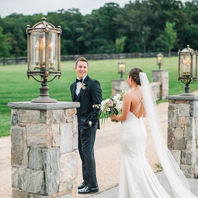I MEAN..... CAN YOU EVEN??? Look at Kayla & Korbin! That look, those tears....LOVE!  Hair & Makeup by Amanda and Muah 💋! Photography: @sarahhoustonphotography  Venue: @mountidafarm  Planner: @katephillipsevents  Florist: @thearrangementcompany  Cake: @melissassimplysweet .  #wedding #stylemebar #bride #groom #bridalgown #bridalmakeup #bridalhair #thatlook #love #married #weddingday #tears #happiness #ido #theknot #makeup #updo #happilyeverafter #sosweet #dreamy #inlove #virginia #mountains #mountidafarm