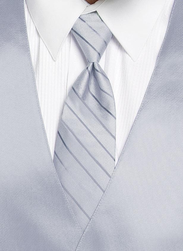 Desert Blue - Striped Tie
