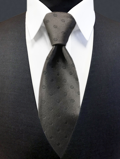 Charcoal - Polka Dot