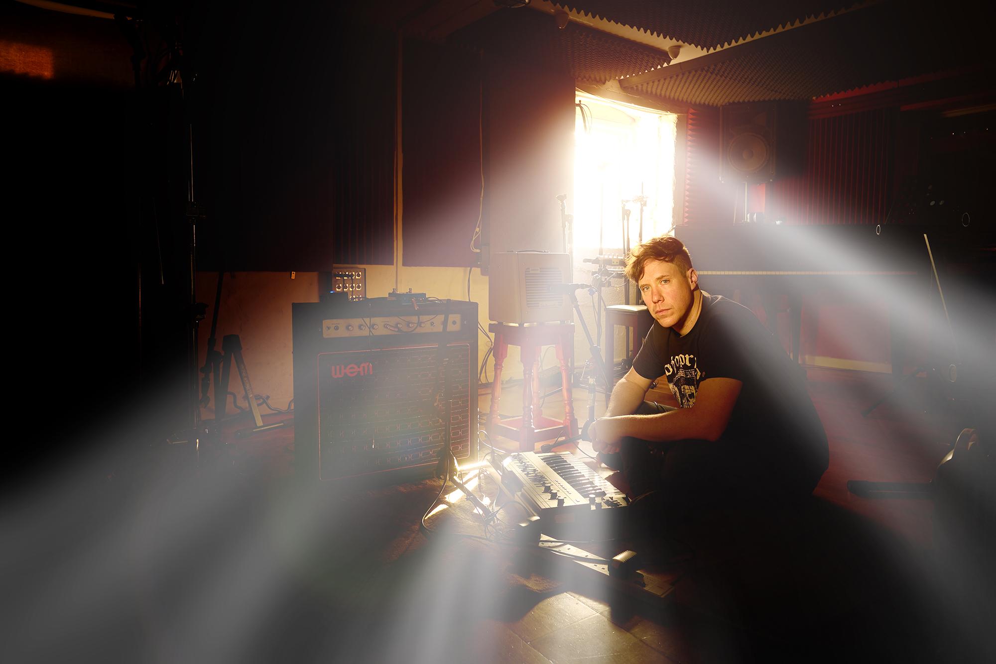 Music Studio Portrait