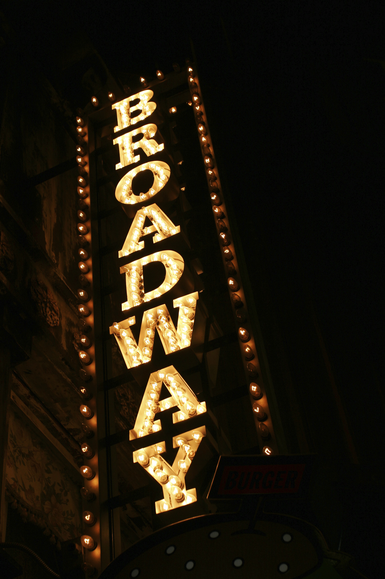 NYC Broadway Theater District