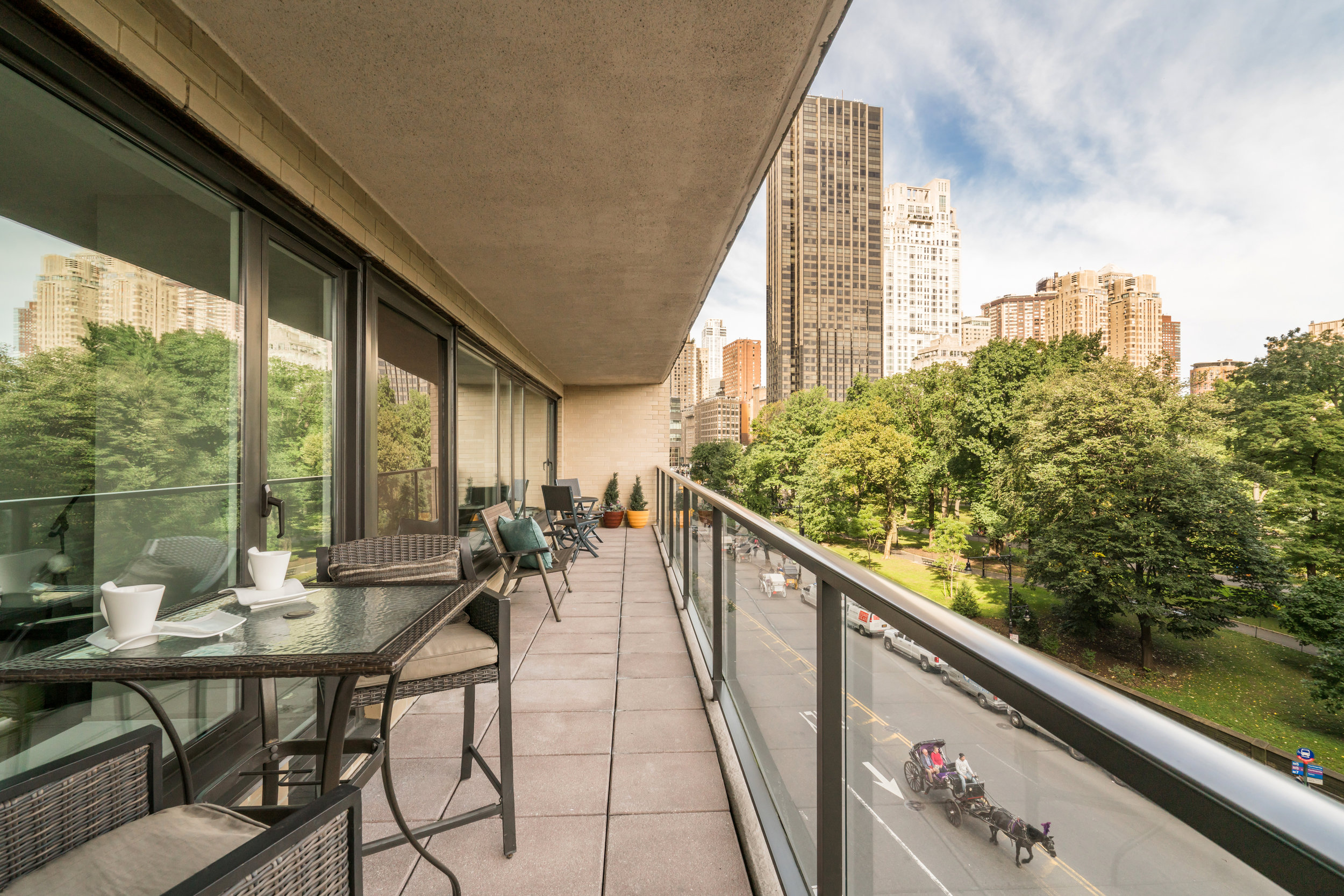 Private Park-View Terrace