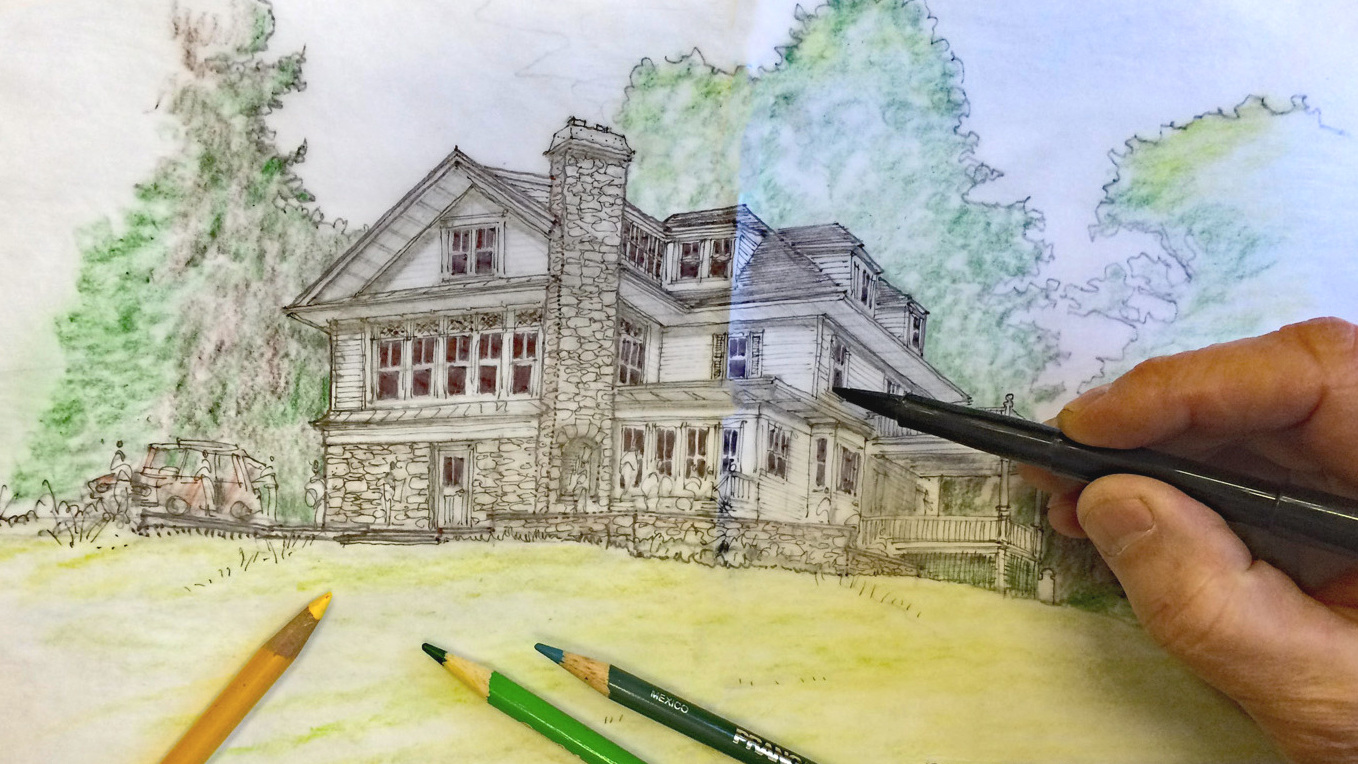 Preliminary Design - In this stage we will re-examine your program and the ideas that were developed at the consultation. Drawings, sketches and sometimes models are used to convey these ideas to you. These design drawings can sometimes be shown to a contractor for a rough idea of cost.