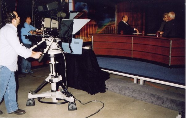 behind the Camera - My broadcast career began at MSNBC in DC. That was really fun.