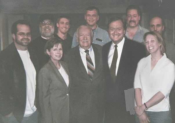 Legends - I met and worked with some amazing people during my time in broadcast television. Tim Russert was my hero. And Walter Cronkite was no joke.
