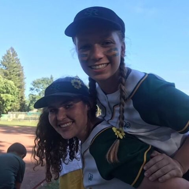 """""""The JV women's softball team wore sun flowers during their game in honor of Lily!"""" Thank you to @anneliesramirez and the SRV JV Women's Softball Team for spreading love and kindness to people around them! #doitforlilysrv - Remember to DM us you acts of kindness in honor of Lily and visit our website: doitforlily.cf"""