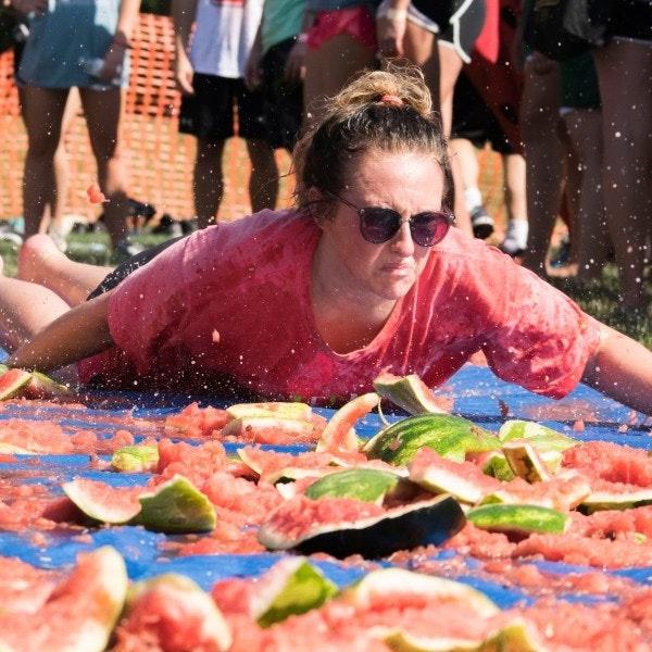 Watermelon Scramble