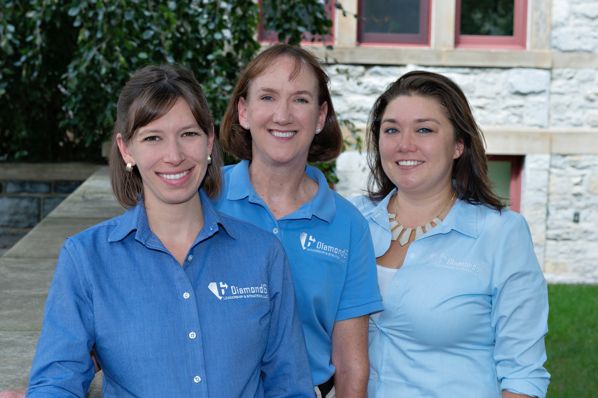 Tanya McCausland, COO / Holly Tiley, Office & Events Manager / Bri Buffington, Marketing & Communications Manager