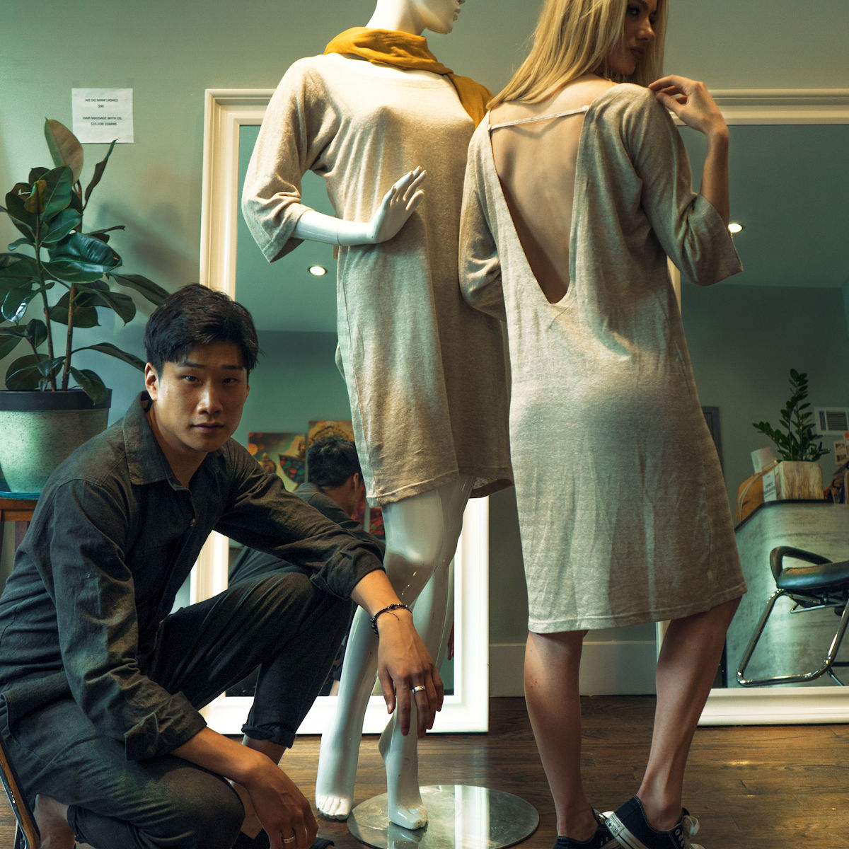 Stemp - Styled from Hemp - Evolution Mine is proud to introduce Stemp (Styled from Hemp) clothing from bustling Kathmandu, Nepal all the way to cool Brooklyn. At Stemp they believe in bringing hemp fashion to people not just as an alternative but also as a trendy wear. That works for us. Let's call it