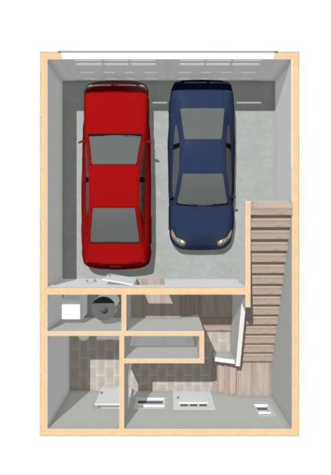 Copy of Floorplan Type 2 - Garage Level
