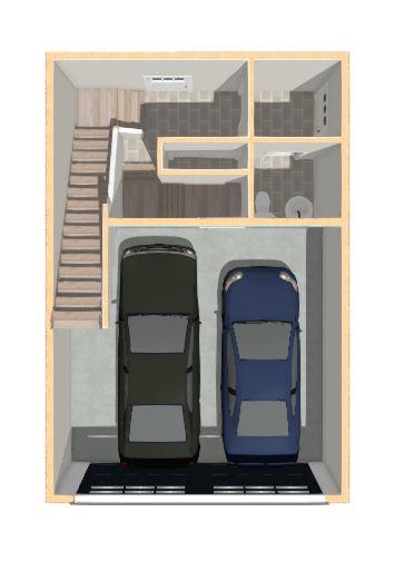 Floorplan Type 2- Garage Level