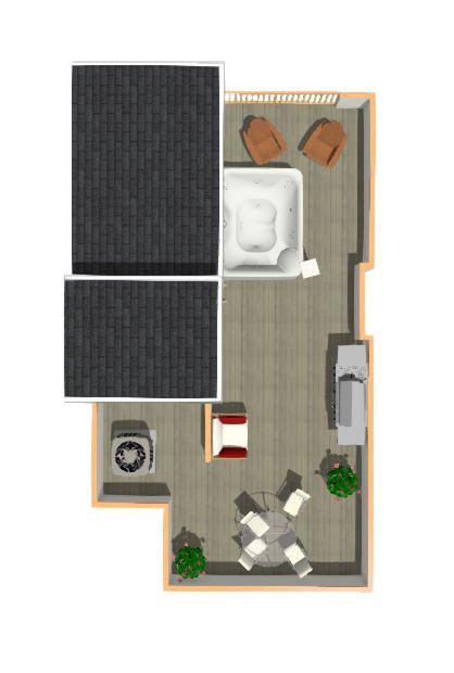 Floorplan Type 4- Roofdeck