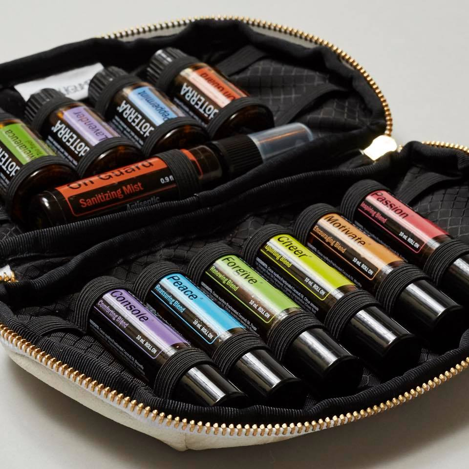 Essential Oil Carrying Case by  Go-Alignment