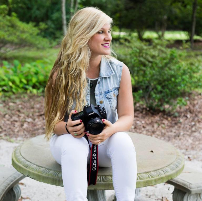 Meet Kathleen! - Kathleen is the owner & founder of Kathleen Dew Photography located in Anderson, South Carolina!
