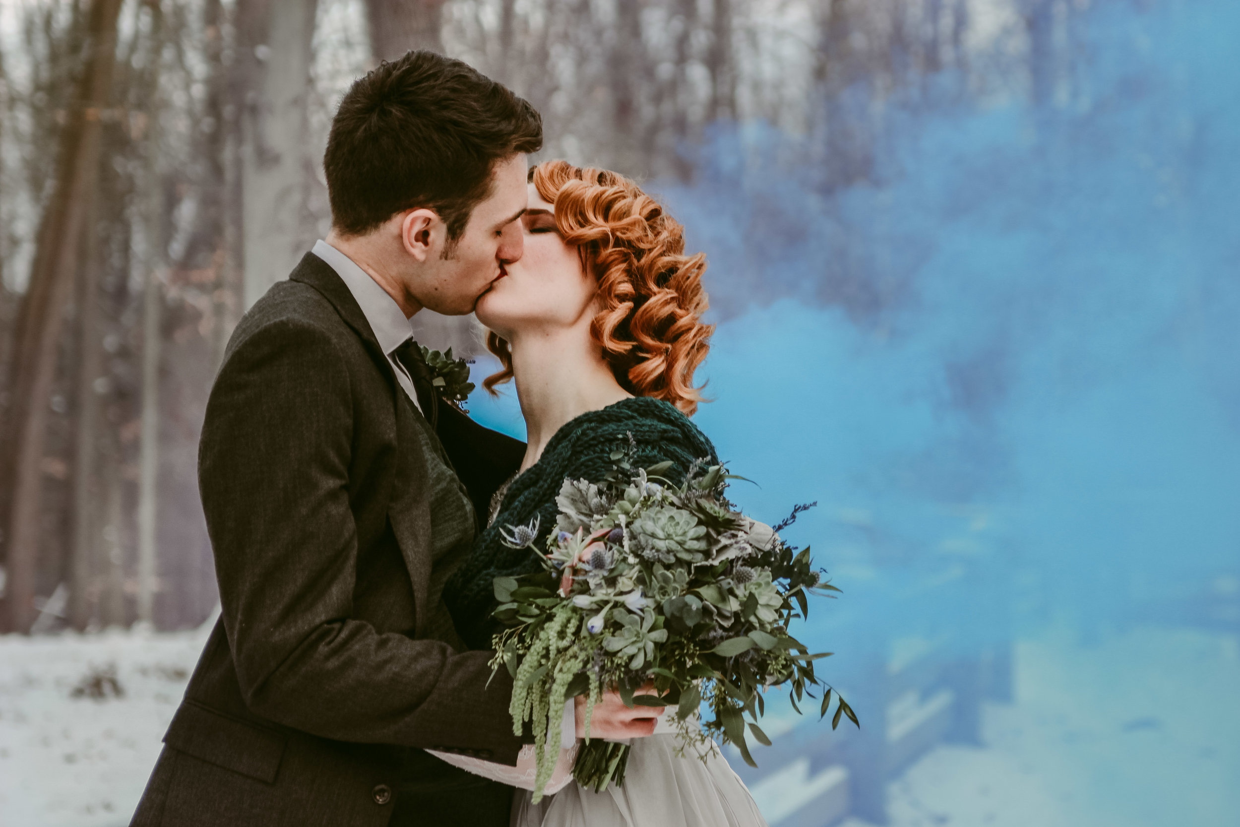 Where has been the coolest place you have done a photo shoot? - I photographed a wedding in Cuyahoga National Park a couple years ago….and that is still one of my favorite weddings and locations to date (it helps that they were also good friends of mine). It snowed the night before the wedding, so Cuyahoga looked like a winter wonderland. *heart eyes*