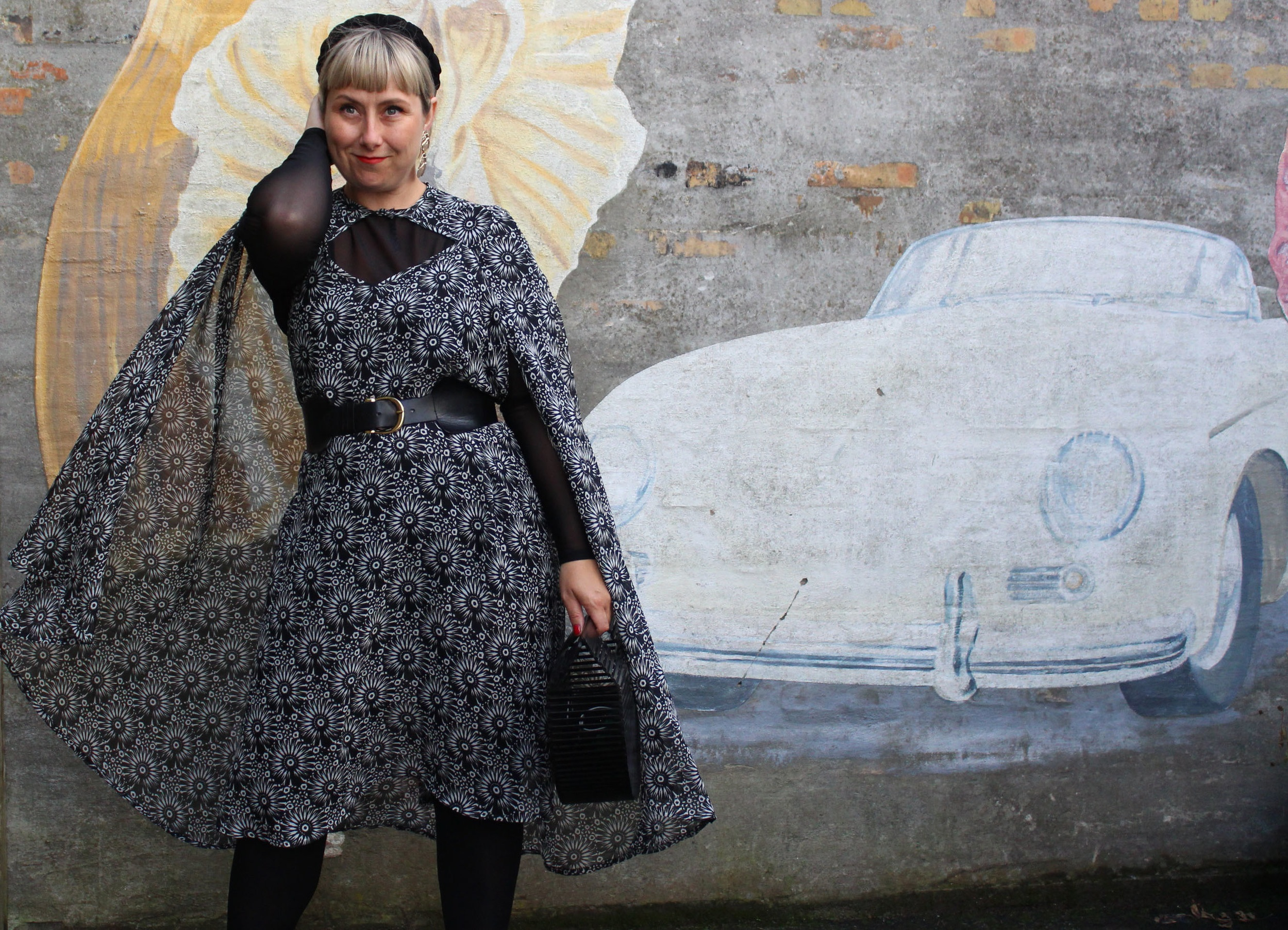 From overcoat to dress -