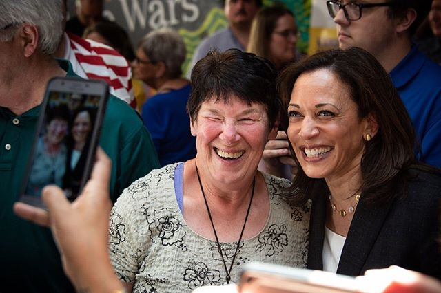 Got the privilege of snapping photos for #kamalaharris this weekend in #Waterloo and #Dubuque. The crowd was spilling over the fire code, surely. 🔥🔥🔥