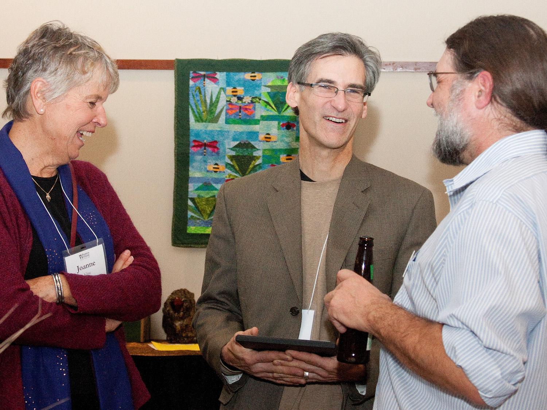 Dan Collins, 2014 Wetland Hero (Wisconsin Wetlands Association)