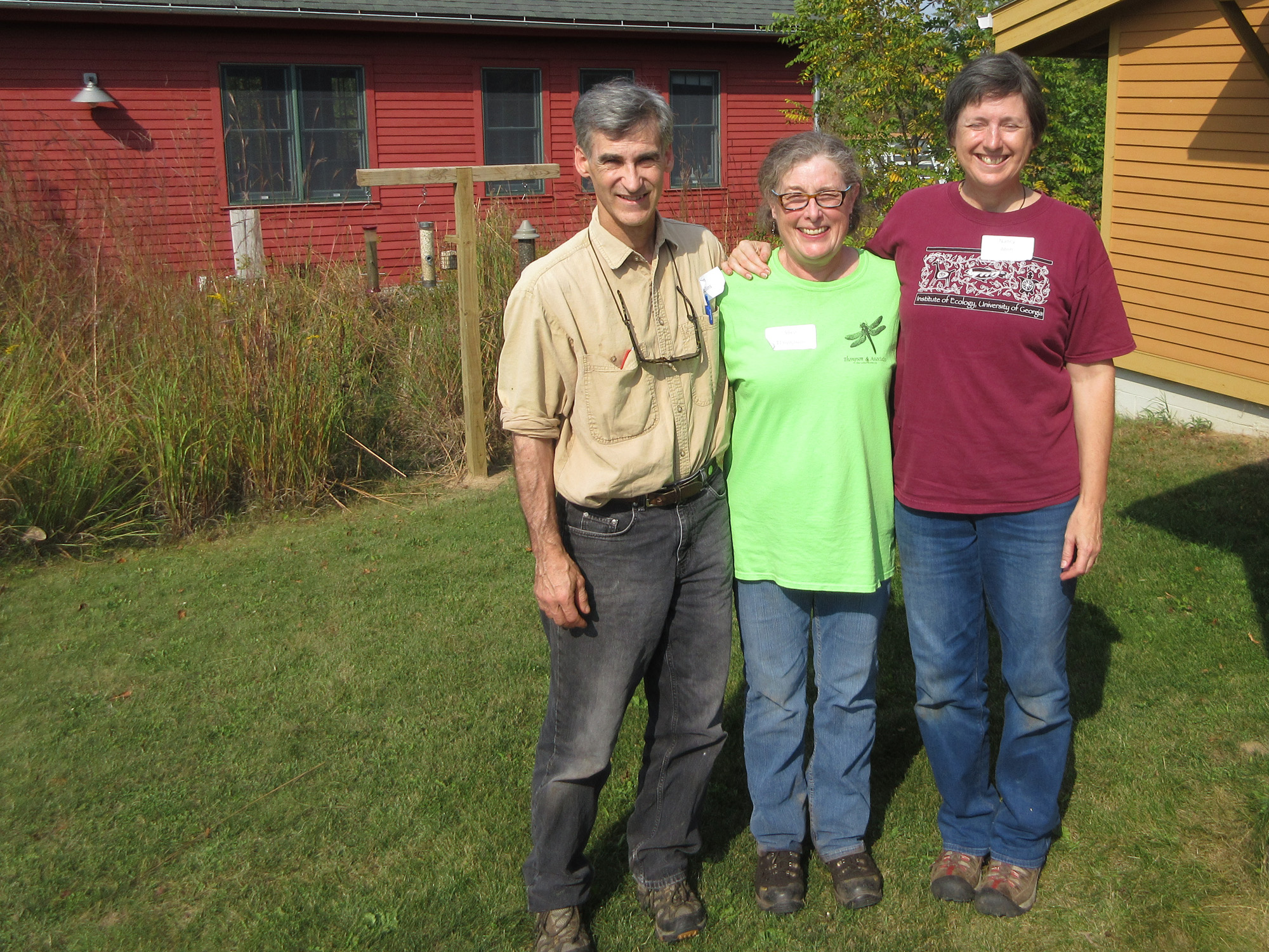 With Alice Thompson, Wetlands Workshop