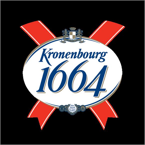 KRONENBOURG 1664 -