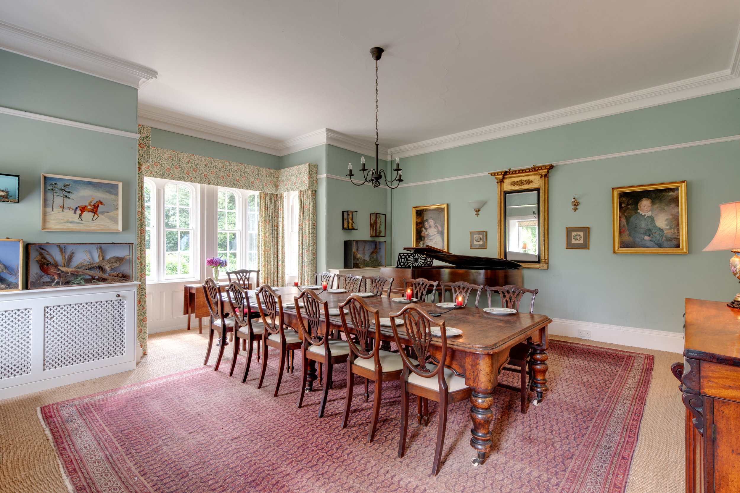 The Dining Room (can seat up to 18 with extra add on table)
