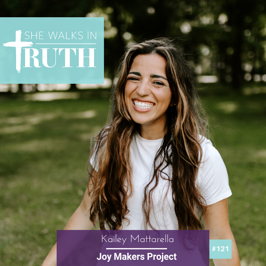 She Walks In Truth Podcast   Joy Makers Project was featured on the She Walks In Truth Podcast. This is a platform that exists for listeners to hear God-inspired messages and faith stories to encourage and equip you to walk confidently with Christ. Check out this podcast at  www.carrierobaina.com/podcast