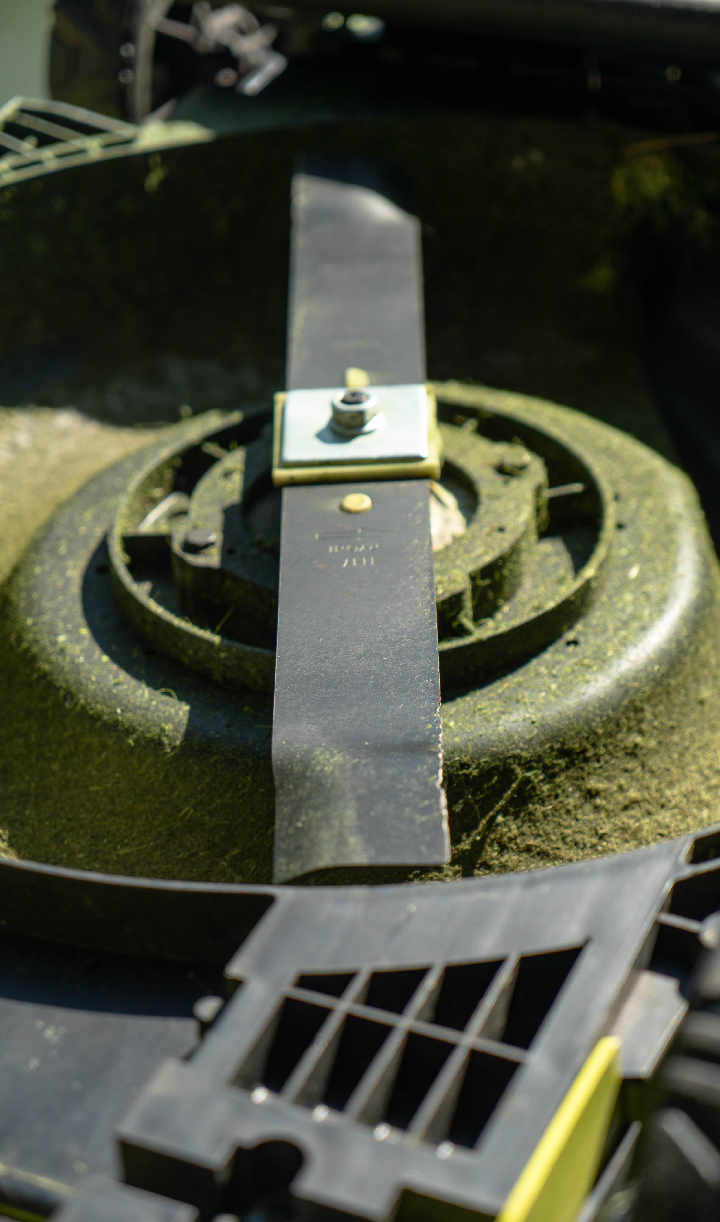 Sharpen your lawn mower blades
