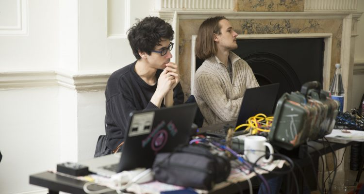 SINES: a brain wave and data art hack - with AXNS CollectiveSomerset House, London