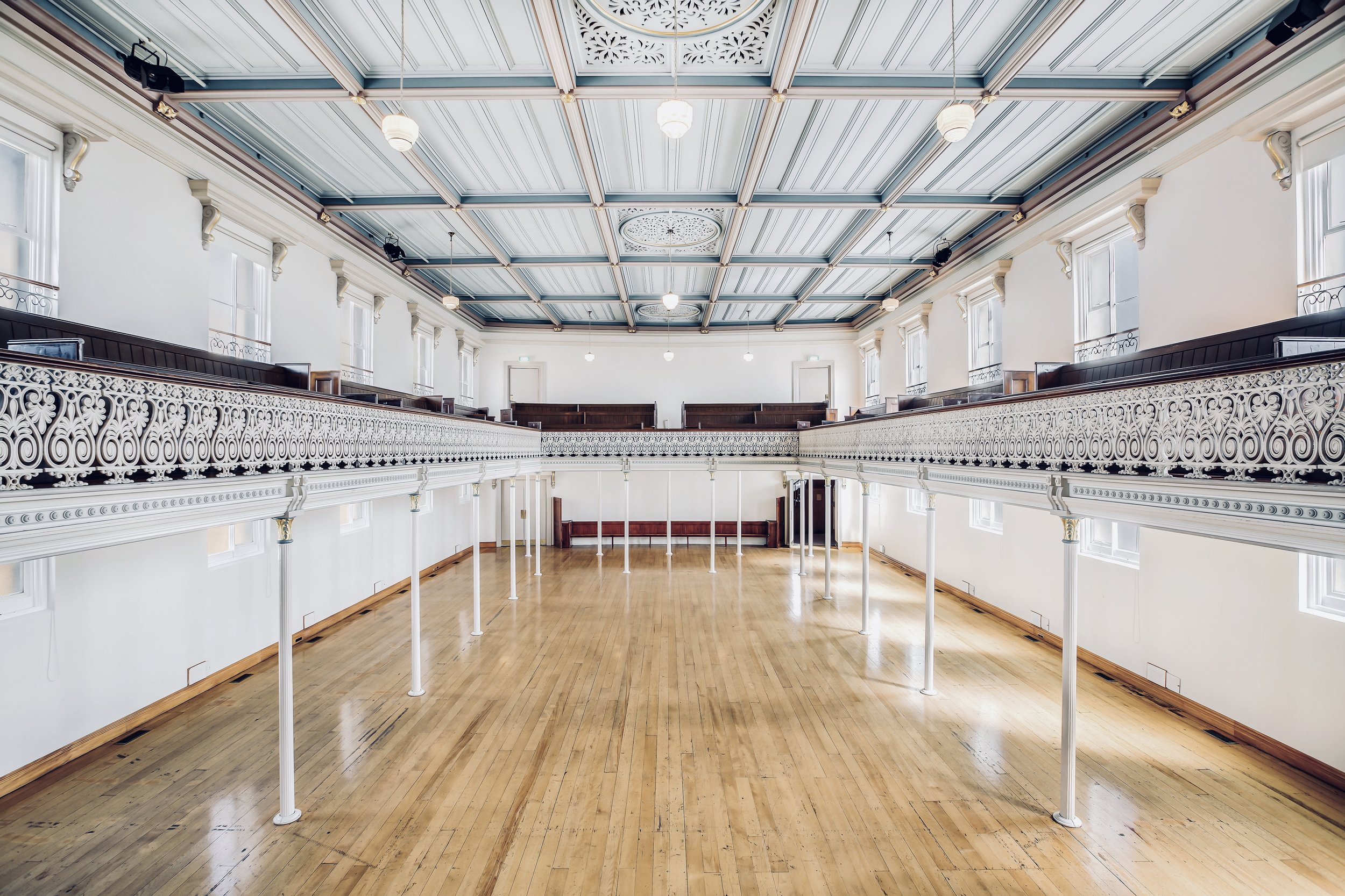 Originally built as a church in 1875, - Hopetoun Alpha is an iconic venue in Auckland.