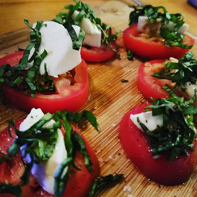 Sometimes a simple caprese salad is all you need...