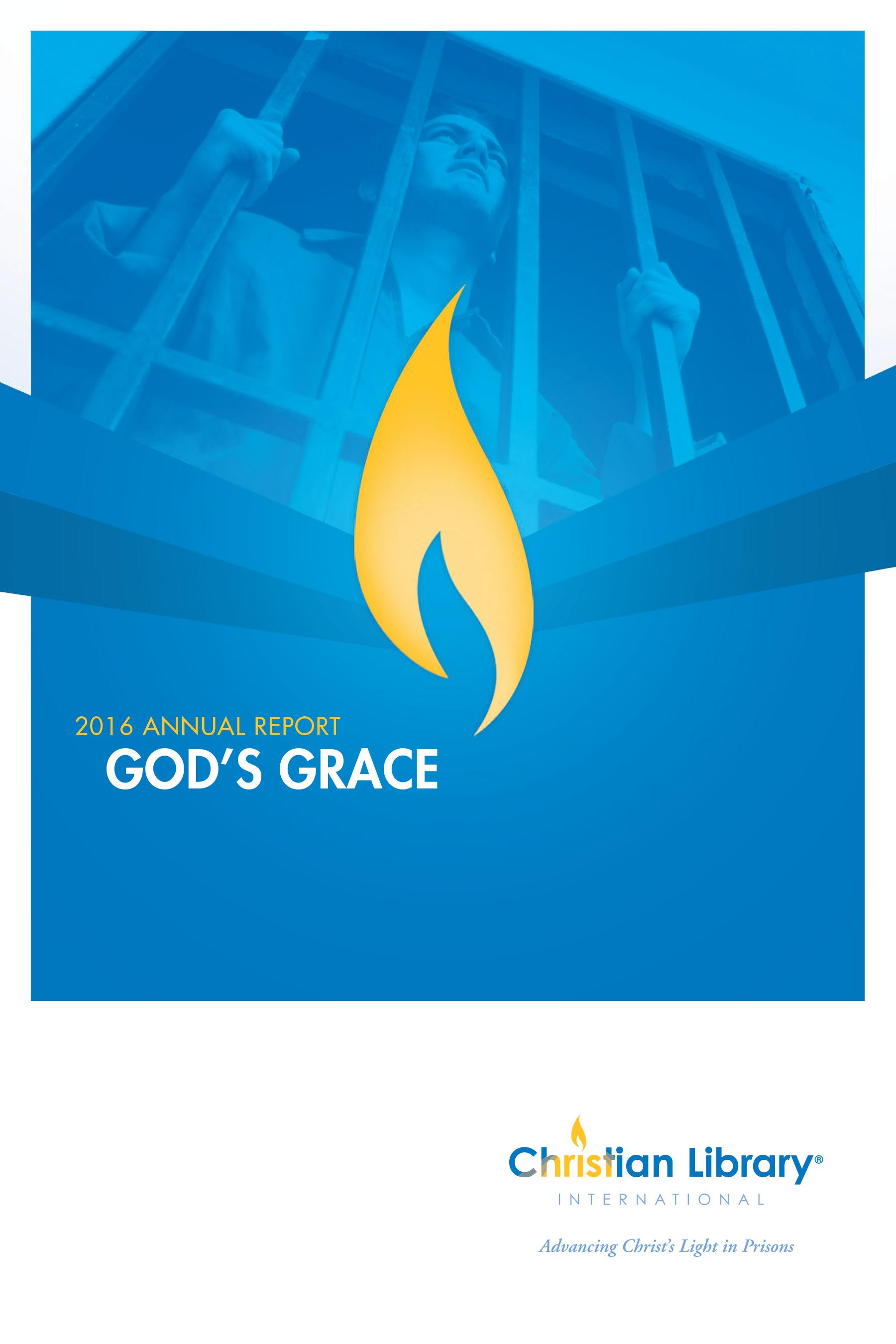 2016 God's Grace Annual Report