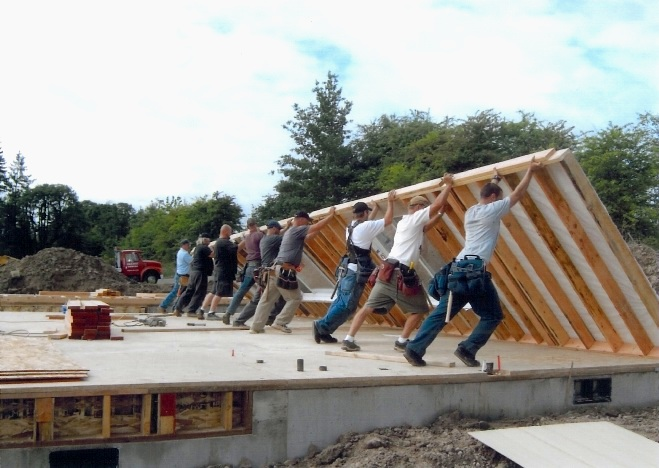 Neighbors Building Neighborhoods -
