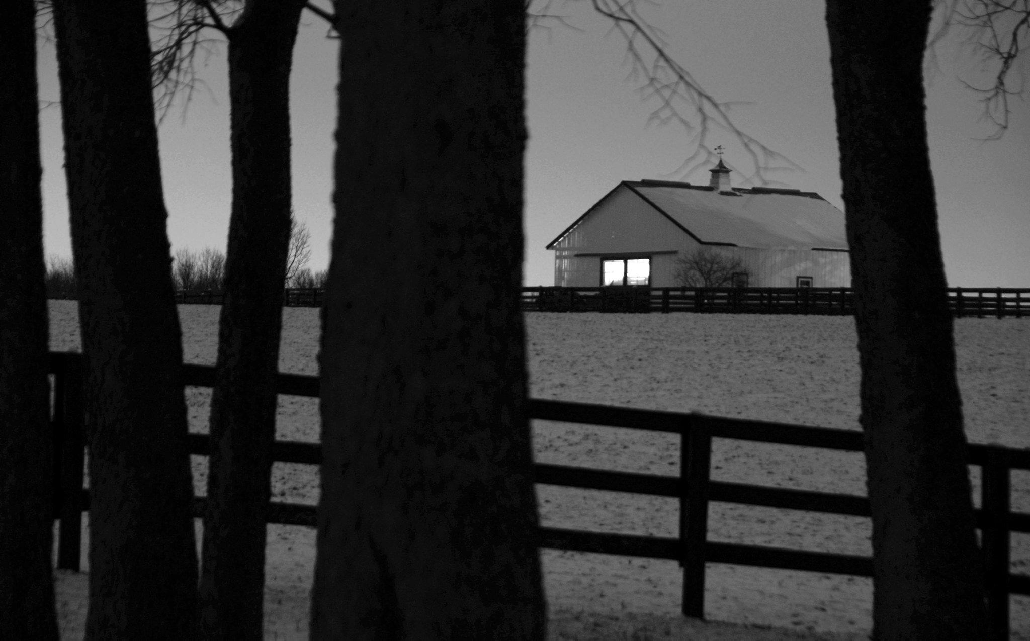 Barn and Snow