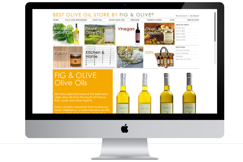 Fig & Olive Ecommerce