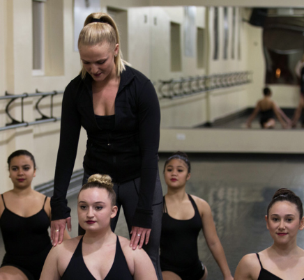 Lauren Giordano Whittington, Gus Giordano Dance School