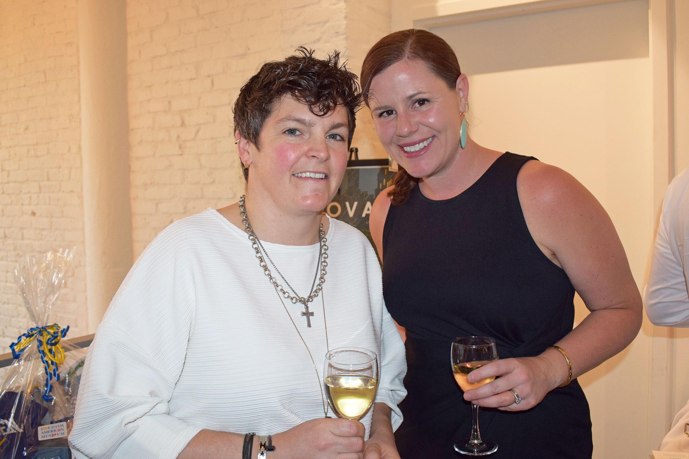 Krista Wortendyke & Mary Beck