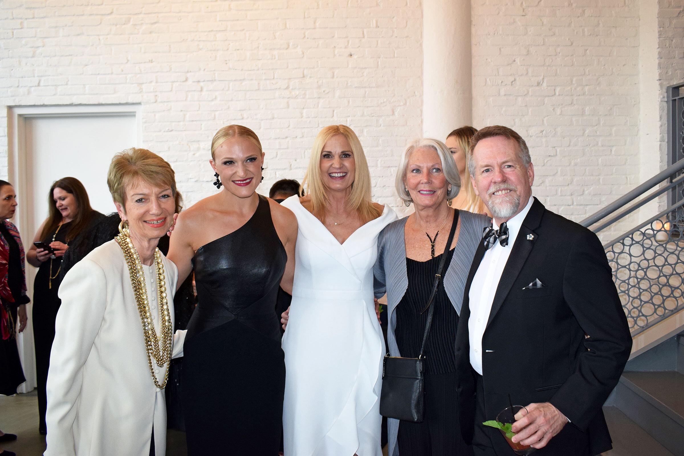 Marsha Dowd, Lauren Giordano Curran,  Amy Giordano, Pam Crutchfield