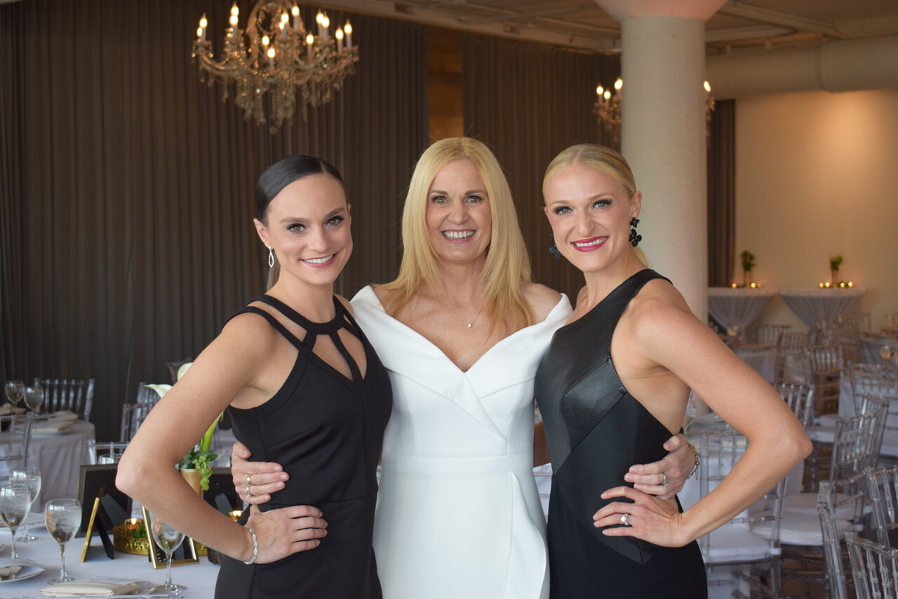 Nicole Belanger Weingarten, Amy Giordano, Lauren Giordano Whittington
