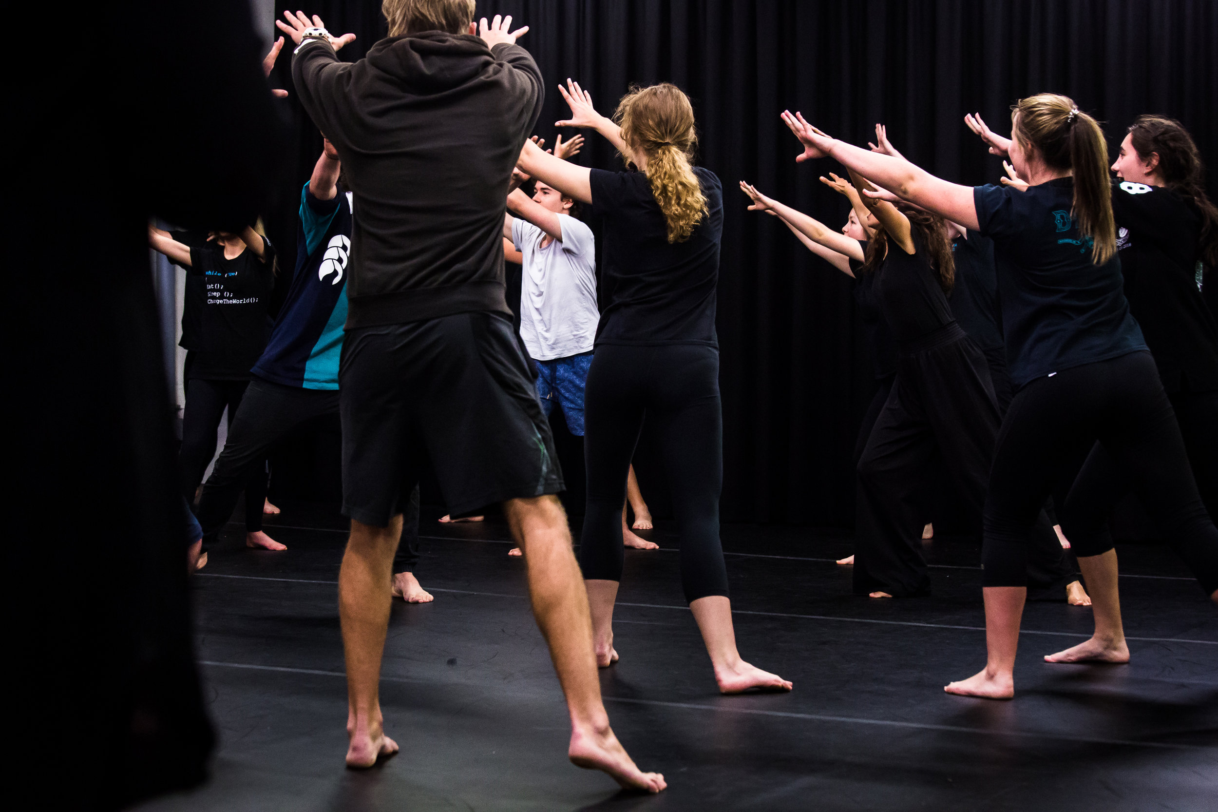 WORKSHOP PROGRAMS FOR STUDENTS - Discover innovative approaches to storytelling and theatre-making with two programs designed to unlock creativity through movement and ensemble collaboration.
