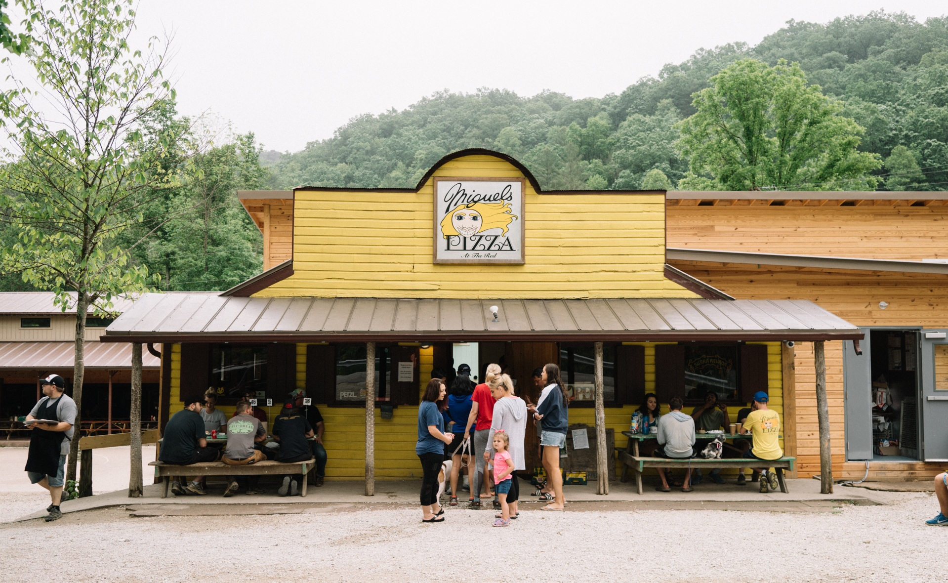 Miguel's Pizza, Red River Gorge