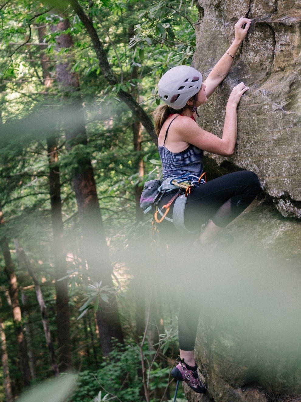 Libby Fields sends Hippy Lip Balm (5.9) onsight