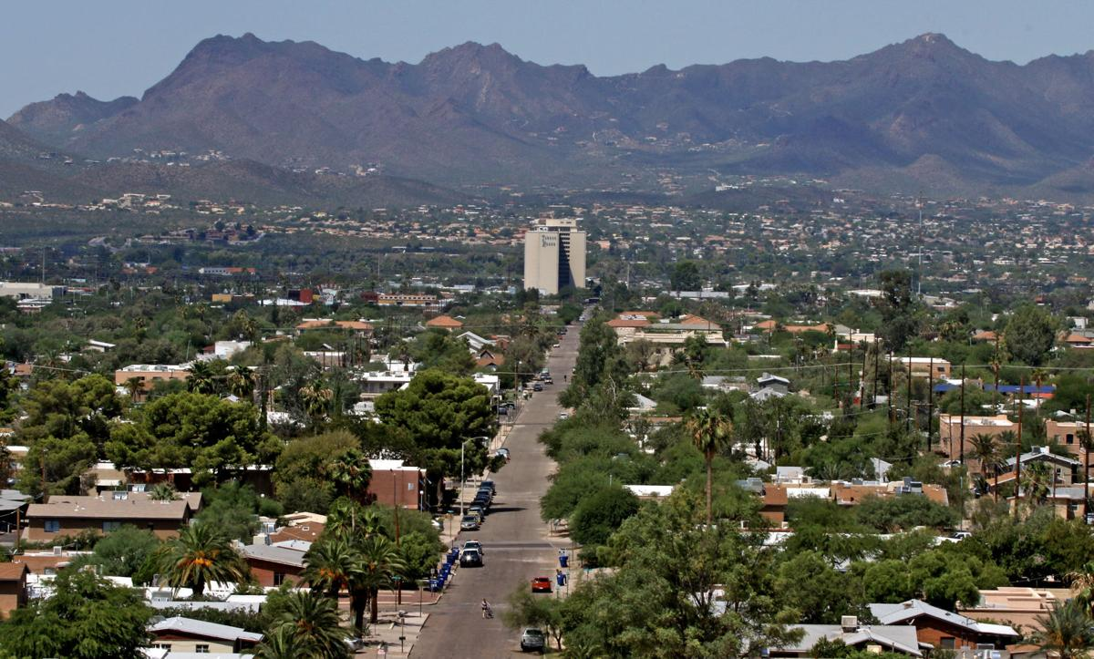 """Parking lots, street corners and washes are popular spots for dealers in 85705, and this sort of easy flow of sellers and buyers makes the area what's called an """"open-air drug market.""""  A.E. Araiza / Arizona Daily Star"""