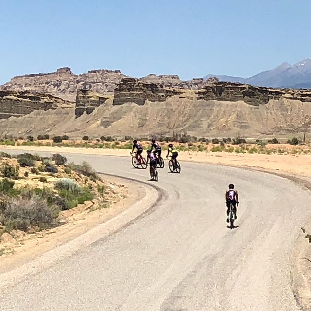 Day 2 of Burr Trail Gravel Adventure was something we all will remember forever. These photos barely do the scenery justice, as we rode the Burr Trail and beyond. This crew of athletes are stellar humans, digging deep and supporting each other. Smiles across all the miles. Time for recovery and another day of dirt on the horizon ✌️
